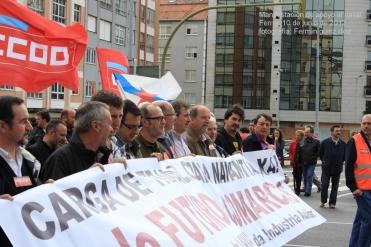 manifestación de apoyo al naval - ferrol, 10 de junio de 2012 - navantia - fotografía por Fermín Goiriz Díaz (22)