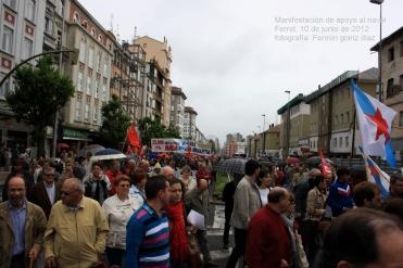manifestación de apoyo al naval - ferrol, 10 de junio de 2012 - navantia - fotografía por Fermín Goiriz Díaz (47)