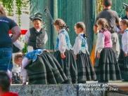 Buxainas danzando na praza roxa de Cedeira, 28 de xullo de 2012 - cantareiras e grupo de baile da A. C. Buxainas - Fotografia por Fermin Goiriz Diaz( (35)