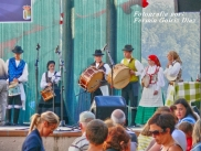 Buxainas danzando na praza roxa de Cedeira, 28 de xullo de 2012 - cantareiras e grupo de baile da A. C. Buxainas - Fotografia por Fermin Goiriz Diaz( (44)