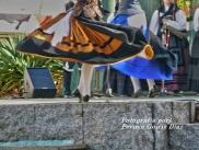 Buxainas danzando na praza roxa de Cedeira, 28 de xullo de 2012 - cantareiras e grupo de baile da A. C. Buxainas - Fotografia por Fermin Goiriz Diaz( (67)