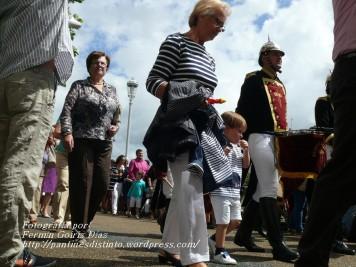 Procesión de la Virgen del Mar Cedeira, 15 de agosto de 2012 - fotografía por Fermín Goiriz Díaz (27)