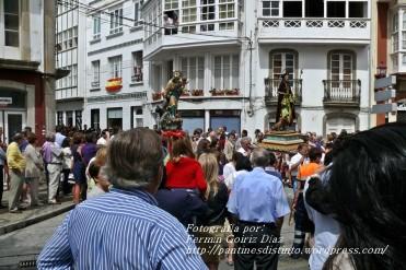 Procesión de la Virgen del Mar Cedeira, 15 de agosto de 2012 - fotografía por Fermín Goiriz Díaz (8)