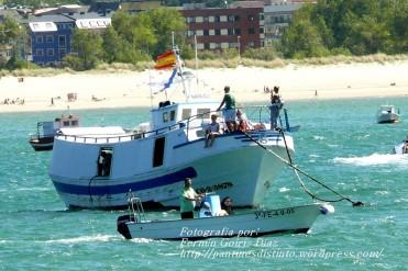 Procesión Marítima en honor de la Patrona de Cedeira - Cedeira, 16 de agosto de 2012 - fotografía por Fermín Goiriz Díaz (102)