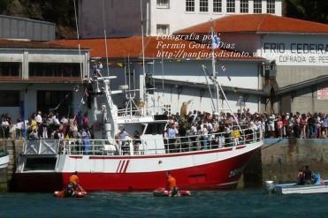 Procesión Marítima en honor de la Patrona de Cedeira - Cedeira, 16 de agosto de 2012 - fotografía por Fermín Goiriz Díaz (106)