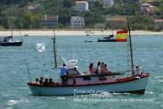 Procesión Marítima en honor de la Patrona de Cedeira - Cedeira, 16 de agosto de 2012 - fotografía por Fermín Goiriz Díaz (108)