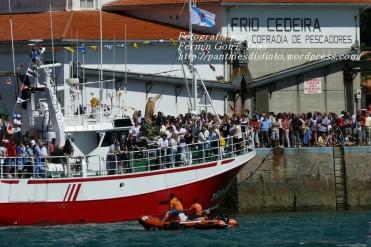 Procesión Marítima en honor de la Patrona de Cedeira - Cedeira, 16 de agosto de 2012 - fotografía por Fermín Goiriz Díaz (124)