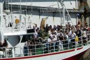 Procesión Marítima en honor de la Patrona de Cedeira - Cedeira, 16 de agosto de 2012 - fotografía por Fermín Goiriz Díaz (125)