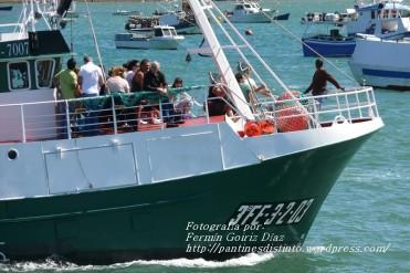 Procesión Marítima en honor de la Patrona de Cedeira - Cedeira, 16 de agosto de 2012 - fotografía por Fermín Goiriz Díaz (140)