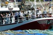 Procesión Marítima en honor de la Patrona de Cedeira - Cedeira, 16 de agosto de 2012 - fotografía por Fermín Goiriz Díaz (149)