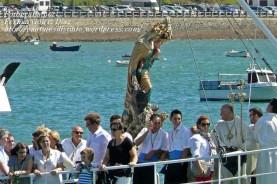 Procesión Marítima en honor de la Patrona de Cedeira - Cedeira, 16 de agosto de 2012 - fotografía por Fermín Goiriz Díaz (153)