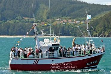 Procesión Marítima en honor de la Patrona de Cedeira - Cedeira, 16 de agosto de 2012 - fotografía por Fermín Goiriz Díaz (167)