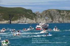 Procesión Marítima en honor de la Patrona de Cedeira - Cedeira, 16 de agosto de 2012 - fotografía por Fermín Goiriz Díaz (182)