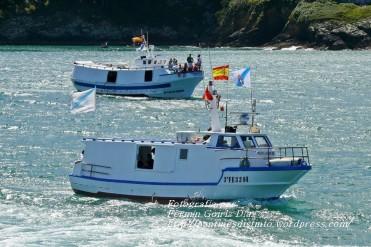 Procesión Marítima en honor de la Patrona de Cedeira - Cedeira, 16 de agosto de 2012 - fotografía por Fermín Goiriz Díaz (209)