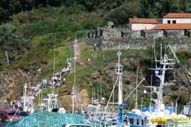 Procesión Marítima en honor de la Patrona de Cedeira - Cedeira, 16 de agosto de 2012 - fotografía por Fermín Goiriz Díaz (230)