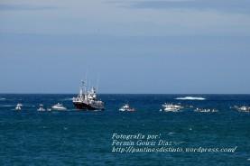 Procesión Marítima en honor de la Patrona de Cedeira - Cedeira, 16 de agosto de 2012 - fotografía por Fermín Goiriz Díaz (243)