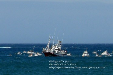 Procesión Marítima en honor de la Patrona de Cedeira - Cedeira, 16 de agosto de 2012 - fotografía por Fermín Goiriz Díaz (244)