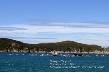 Procesión Marítima en honor de la Patrona de Cedeira - Cedeira, 16 de agosto de 2012 - fotografía por Fermín Goiriz Díaz (269)