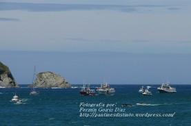 Procesión Marítima en honor de la Patrona de Cedeira - Cedeira, 16 de agosto de 2012 - fotografía por Fermín Goiriz Díaz (271)