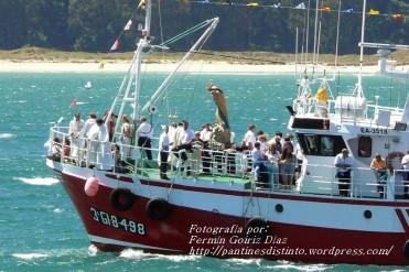 Procesión Marítima en honor de la Patrona de Cedeira - Cedeira, 16 de agosto de 2012 - fotografía por Fermín Goiriz Díaz (291)