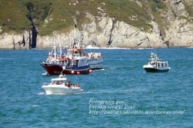 Procesión Marítima en honor de la Patrona de Cedeira - Cedeira, 16 de agosto de 2012 - fotografía por Fermín Goiriz Díaz (295)