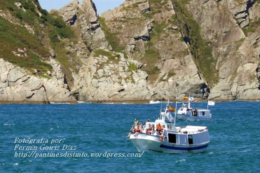 Procesión Marítima en honor de la Patrona de Cedeira - Cedeira, 16 de agosto de 2012 - fotografía por Fermín Goiriz Díaz (297)