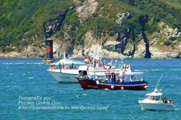 Procesión Marítima en honor de la Patrona de Cedeira - Cedeira, 16 de agosto de 2012 - fotografía por Fermín Goiriz Díaz (309)