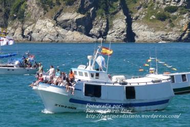 Procesión Marítima en honor de la Patrona de Cedeira - Cedeira, 16 de agosto de 2012 - fotografía por Fermín Goiriz Díaz (317)