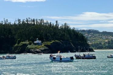Procesión Marítima en honor de la Patrona de Cedeira - Cedeira, 16 de agosto de 2012 - fotografía por Fermín Goiriz Díaz (337)