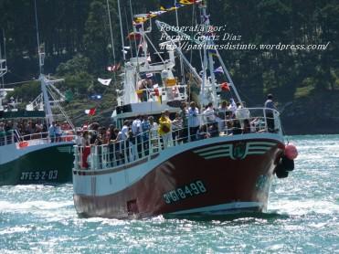 Procesión Marítima en honor de la Patrona de Cedeira - Cedeira, 16 de agosto de 2012 - fotografía por Fermín Goiriz Díaz (379)