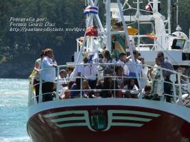 Procesión Marítima en honor de la Patrona de Cedeira - Cedeira, 16 de agosto de 2012 - fotografía por Fermín Goiriz Díaz (383)