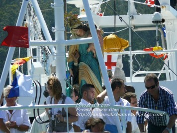 Procesión Marítima en honor de la Patrona de Cedeira - Cedeira, 16 de agosto de 2012 - fotografía por Fermín Goiriz Díaz (384)
