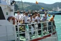 Procesión Marítima en honor de la Patrona de Cedeira - Cedeira, 16 de agosto de 2012 - fotografía por Fermín Goiriz Díaz (392)