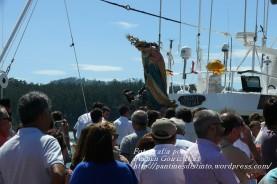 Procesión Marítima en honor de la Patrona de Cedeira - Cedeira, 16 de agosto de 2012 - fotografía por Fermín Goiriz Díaz (402)