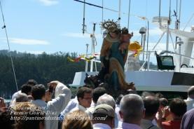 Procesión Marítima en honor de la Patrona de Cedeira - Cedeira, 16 de agosto de 2012 - fotografía por Fermín Goiriz Díaz (403)