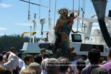Procesión Marítima en honor de la Patrona de Cedeira - Cedeira, 16 de agosto de 2012 - fotografía por Fermín Goiriz Díaz (404)