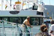 Procesión Marítima en honor de la Patrona de Cedeira - Cedeira, 16 de agosto de 2012 - fotografía por Fermín Goiriz Díaz (421)