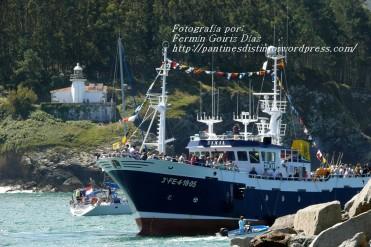 Procesión Marítima en honor de la Patrona de Cedeira - Cedeira, 16 de agosto de 2012 - fotografía por Fermín Goiriz Díaz (70)