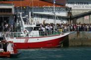 Procesión Marítima en honor de la Patrona de Cedeira - Cedeira, 16 de agosto de 2012 - fotografía por Fermín Goiriz Díaz (79)
