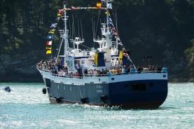 Procesión Marítima en honor de la Patrona de Cedeira - Cedeira, 16 de agosto de 2012 - fotografía por Fermín Goiriz Díaz (91)