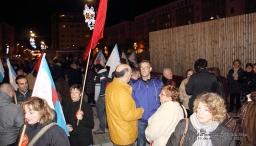 Concentración en Ferrol contra las tasas judiciales de Gallardón - Ferrol, 11-12-2012-fotografía por Fermín goiriz Díaz (4)