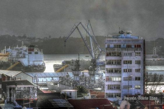 Contaminación visual - ferrol diembre 2012 - fotografía por fermín goiriz díaz