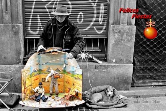 Felices Fiestas - En Ferrol diciembre de 2012 - fotografía por fermín Goiriz Díaz