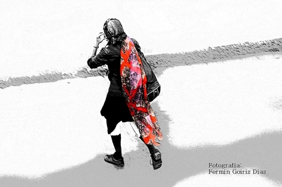 La nujer del foulard-fotografía por fermín goiriz díaz 2012 (Custom)