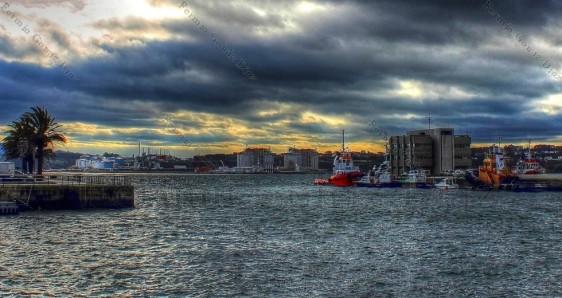 Ría de Ferrol - Reganosa - fotografía por Fermín Goiriz Díaz diciembre 2012