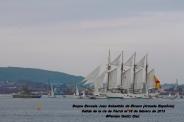 Buque Escuela Juan Sebastián de Elcano saliendo de la ría de Ferrol - fotografía por Fermín Goiriz Díaz, 16-02-2013 (21)