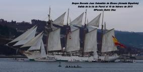 Buque Escuela Juan Sebastián de Elcano saliendo de la ría de Ferrol - fotografía por Fermín Goiriz Díaz, 16-02-2013 (25)