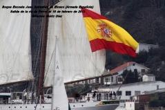 Buque Escuela Juan Sebastián de Elcano saliendo de la ría de Ferrol - fotografía por Fermín Goiriz Díaz, 16-02-2013 (35)