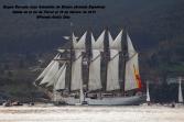 Buque Escuela Juan Sebastián de Elcano saliendo de la ría de Ferrol - fotografía por Fermín Goiriz Díaz, 16-02-2013 (38)