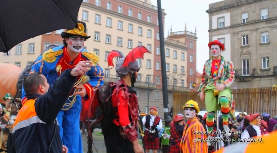 Carnavales de Ferrol - Fotografía por Fermín Goiriz Díaz, 12-02-2013
